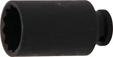 """Kraft-Steckschlüssel-Nuss Zwölfkant Antrieb 1/2"""" SW 33 mm für Antriebswellen"""