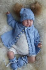 PRINTED PAPER KNITTING PATTERN TO MAKE PETER and PRUDENCE in 3 S1ZES BABY/ DOLLS
