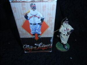 The Resin Negro Leagues Atlanta Black Crackers Santa Christmas Ornament Baseball