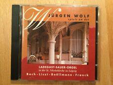 J. Wolf spielt an der Ladegast-Sauer Orgel, Leipzig. 1 CD, ram