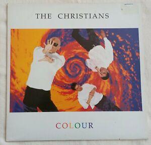 """The Christians - Colour - 12"""" Vinyl Album - 1990"""