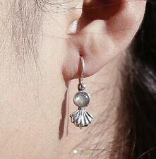 Shop Dixi Labradorite Sea Shell Earrings