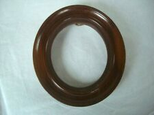 """Vintage Wooden oval picture frame ~5.5""""/14cm tall"""