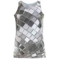 Disco Ball All Over Adult Tank Top