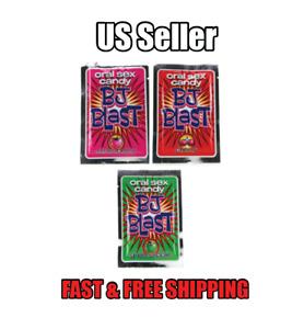 BJ Blast Blow Jobs Oral Sex Candy Pop Rocks Choose Flavor Best Selling