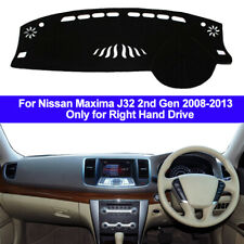 Car Dash Mat Dashboard Cover Carpet For Nissan Maxima J32 2008 - 2011 2012 2013