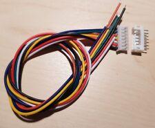 JST PH 2,0 mm 7-Pin Stecker und  Buchse ca. 30 cm Kabel