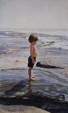 "Steve Hanks, ""Sea Urchin"", Ltd ed offset litho, 20""h x 11.75""w, 1992, matted"