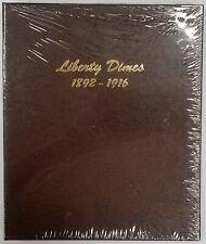 Dansco #7121 Liberty (Barber) Dimes 1892-1916 coin album! New!