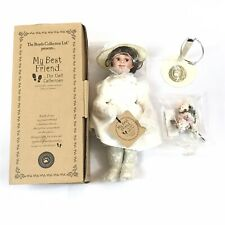Boyds Bears My Best Friend Porcelain Handmade Doll Morgan with Flora PZ 642/1000