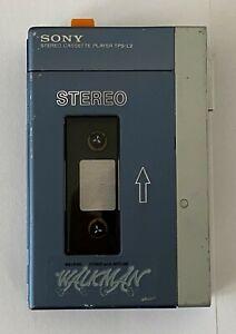 Sony Walkman TPS-L2 beide Riemen Neu funktioniert Stereo Cassette Player