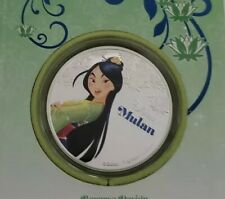 Disney 2016 Mulan .999 1 oz Silver Proof Coin Niue New Zealand Mint