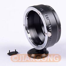 "Canon EOS Lens to SONY NEX E Mount Adapter with Tripod 1/4"" Mount EF S NEX 7 5 3"