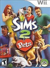 THE SIMS 2: PETS Nintendo Wii Game