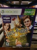 Harry Potter Kinect (Microsoft Xbox 360, 2012) Complete