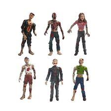 """HAPTIME 6 Pcs Zombie Action Figures 3.75"""" Detailed Walking Dead Toys Terror C..."""