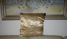"BNWT-Oro Satin Cushion (Cuscino + Federa) - Decorativo - 16""x16"""