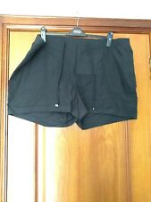 Women's New Without Tags Dorothy Perkins Black elasticated waist Shorts Size 22