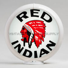 "Red Indian 13.5"" Gas Pump Globe (G419)"