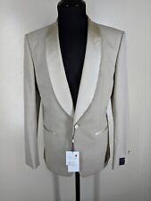 N. HOOLYWOOD  NEW Formal Shawl Collar Beige Dinner Jacket One Btn No Vents 38 R