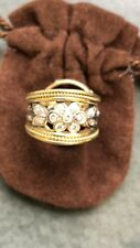 Ring size 4.75 Seidengang 18k And Diamond