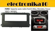 Marco Montaje auto  auto radio Ford S-Max, Mondeo Focus 2007> negro