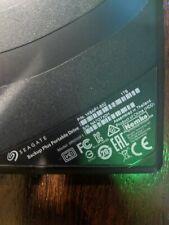 Seagate Backup Plus Slim Portable 1TB External Hard Drive - Black