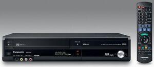 Panasonic DMR-EZ48V Black DVD & VHS Recorder Combo - Freeview - Black - HDMI