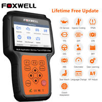 FOXWELL NT650E OBD2 Car Scanner ABS Airbag SAS EPB DPF Oil Reset TPMS TBA Tool
