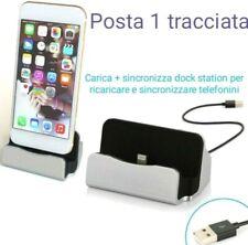 Dock-DESIGN-carica-BASETTA, iphone 6 6s 7 plus...