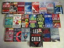 BIG Lot (21) LEE CHILD Books JACK REACHER Series Vol. #1-11, 13-22 NEAR COMPLETE