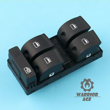 Qty1 OE Driver Master Power Window Switch Button For AUDI A4 S4 B6 B7 SEAT Exeo