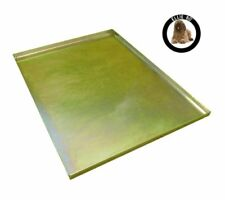 Ellie-Bo Replacement Metal Tray for Dog Cage Crate Medium 30-inch Gold