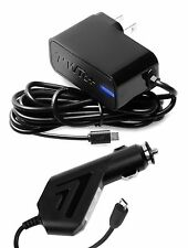 2A AC Power Adapter+Car Charger for Samsung Galaxy S4 S3 S2 S Active Mini Phone