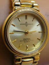 LADIES CROTON ANDRE QUARTZ WATCH,CONDITION IS VERY GOOD