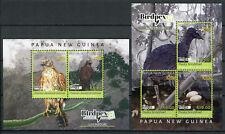 Papua New Guinea PNG 2018 MNH Rare Birds Birdpex Goshawk 5v on 2 M/S Stamps