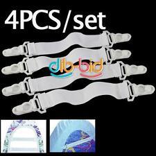 4PCS Clip Pince Matelas Couverture Drap De Lit Attache Elastique Tendeur Sheet
