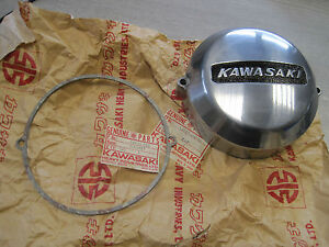 KAWASAKI NOS RARE L/SIDE CASING & GASKET H2 H1 S1 S2 S3 .. 14027-010 -36