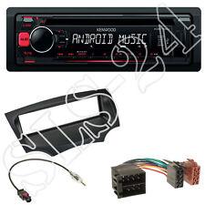 Kenwood KDC-100UR CD USB Radio Ford KA RU8 ab 2008 Blende schwarz + ISO Adapter