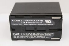Genuine CANON BP-945 RECHARGEABLE CAMCORDER BATTERY PACK BP945 CANON