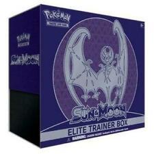 Sol y la Luna Base Set lunala Sellado Elite Trainer Box (ETB) - Inglés Nuevo