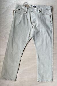 Polo Ralph Lauren Jeans men's  Hampton Relaxed Straight SZ 36 x 29 NWT Mismarked