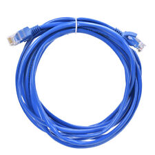 5m CAT5E Ethernet LAN Network Cable for Computer Router Blue ADSL Jumper NT