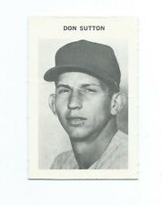 Don Sutton Baseball game card no nbr 3 X 2