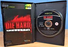 Die Hard Vendetta Xbox Videospiel für 15 + Rollenspiel mit Handbuch