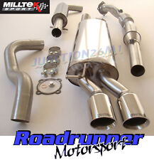 Milltek Seat Leon 1.8T Exhaust System Resonated Turbo Back & Downpipe Sports Cat