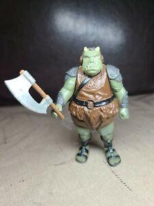 Vintage 1983 Star Wars Gamorrean Guard Action Figure Complete Original Axe