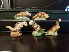 Wade England 1993 Dinosaurs Set 1 figurines Complete Set 5 of 5 piece lot