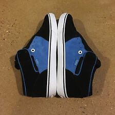 DVS Torey Size 12 Black Blue Torey Pudwill BMX DC Skate Shoes Sneakers Grizzly