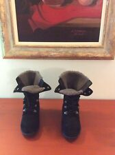 UGG SUEDE AND SHEEPSKIN LINED BOOTS SIZE 38/39 (US 7/8)